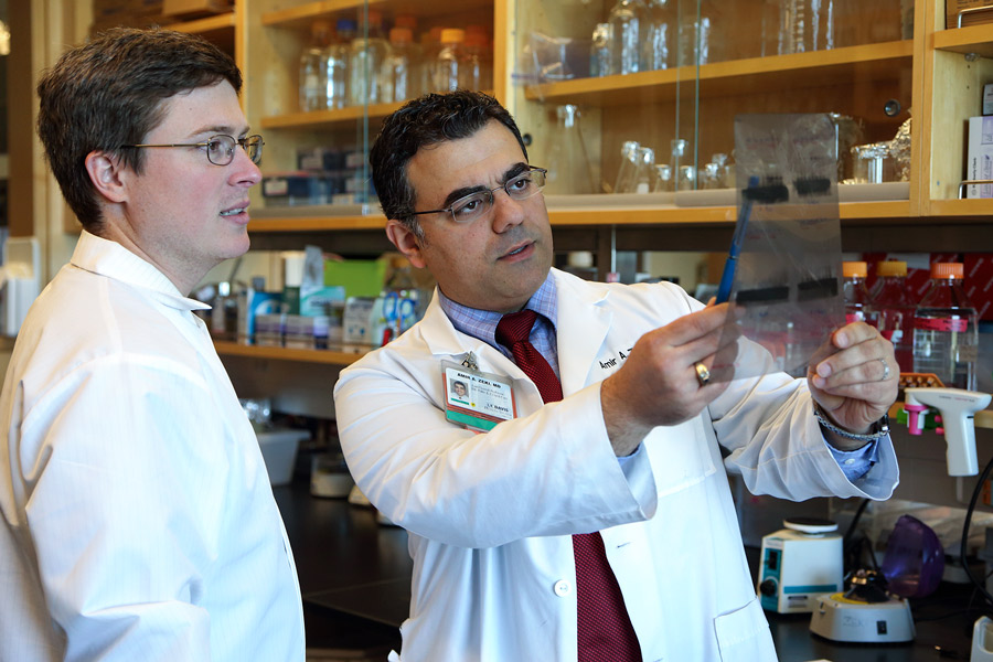 Dr. Amir Zeki and Sean Ott, UC Davis