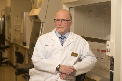 Professor John Morrison, director of the California National Primate Research Center at UC Davis, studies aging and Alzheimer's disease. His election to the National Academy of Medicine recognizes his achievements in brain science and public outreach. (Gregory Urquiaga, UC Davis)