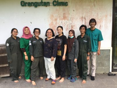 Veterinary Staff at BOSF